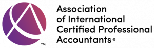 Association of International Certified Professional Accountant logo